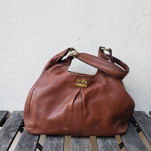 VTG Coach Leather Madison Maggie Hobo Shoulder Bag